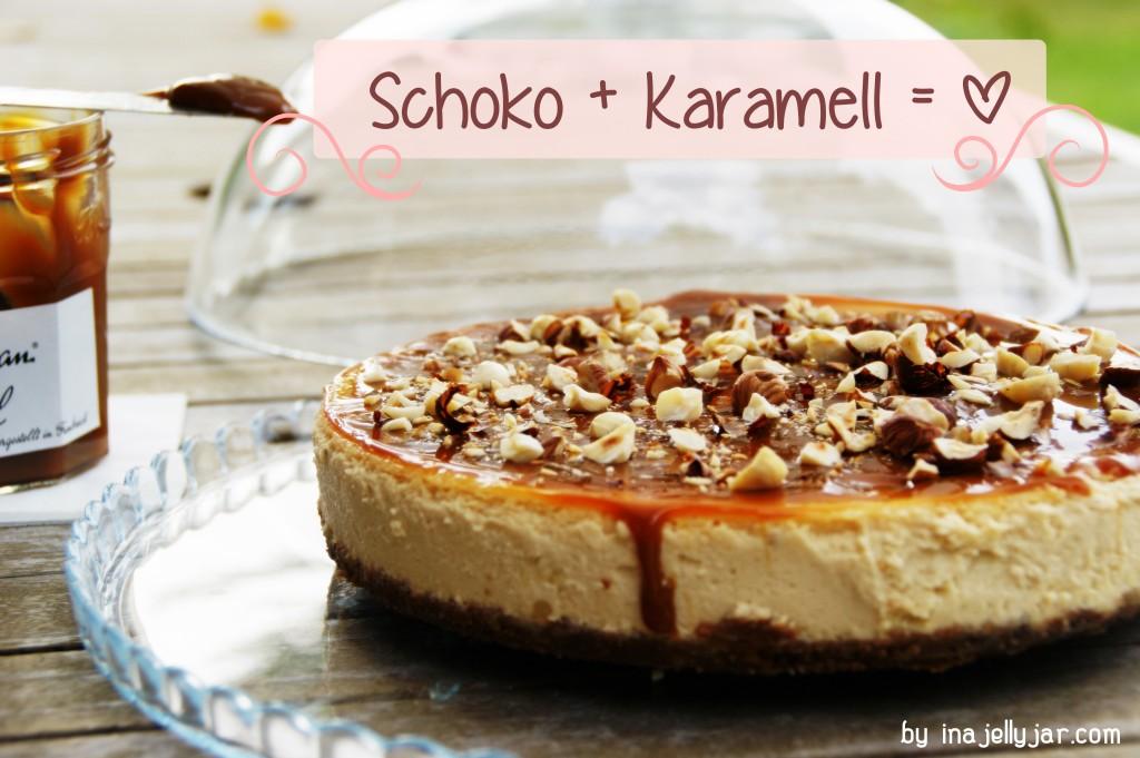 Karamellcheesecake mit Schokolade | mit Frischkäse