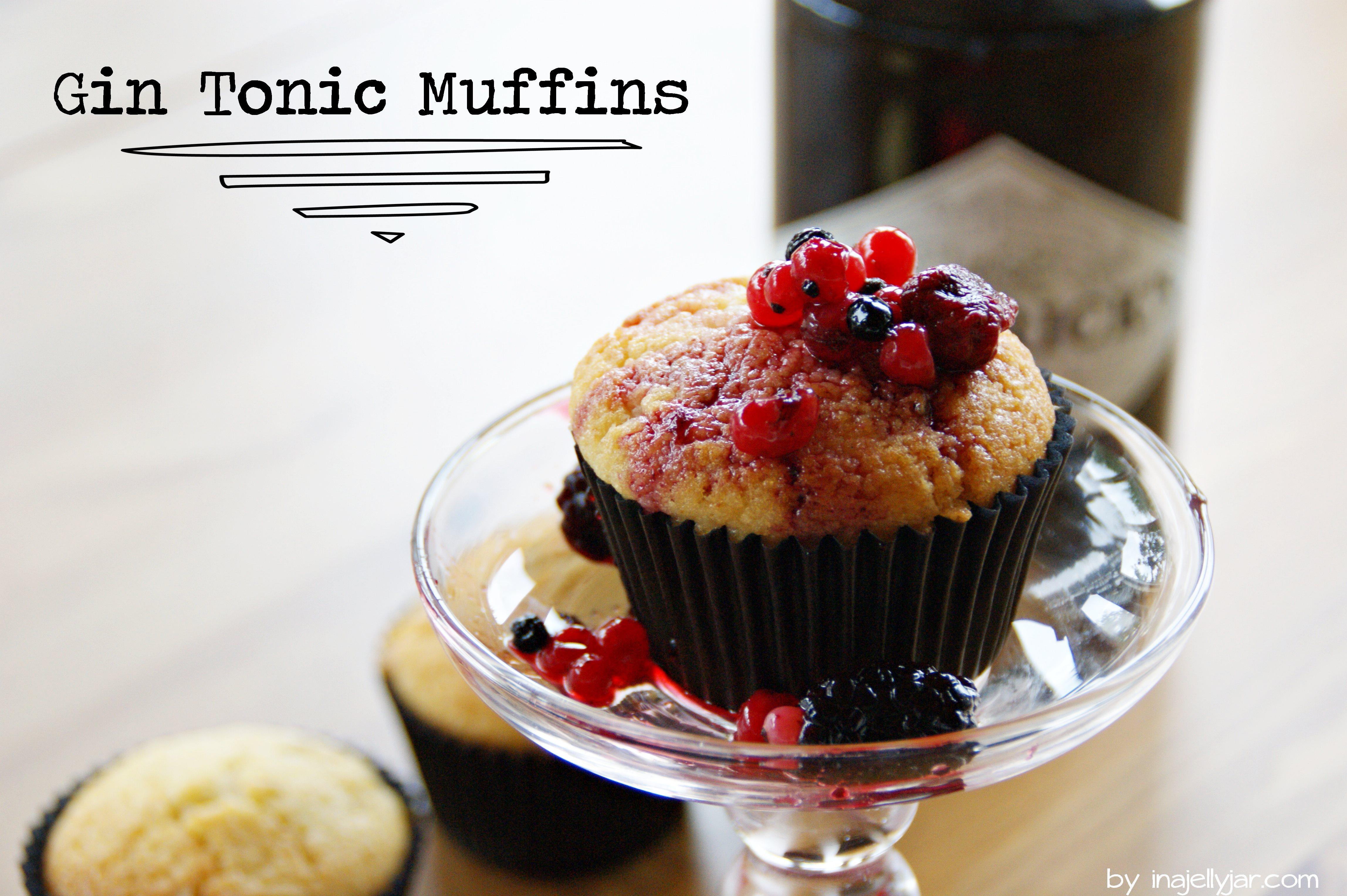 Gin-Tonic Muffins