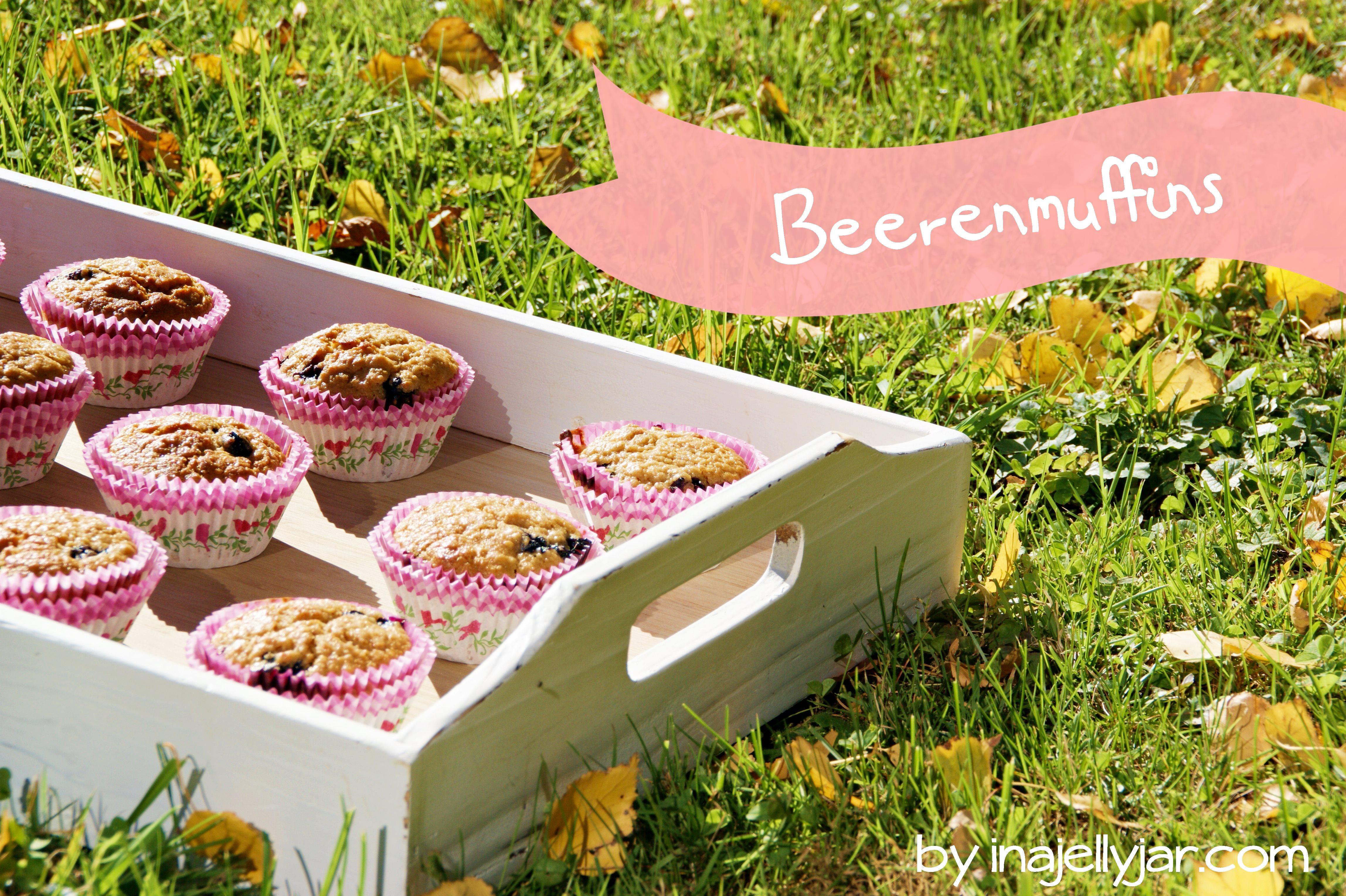 Apfel-Beeren Muffins