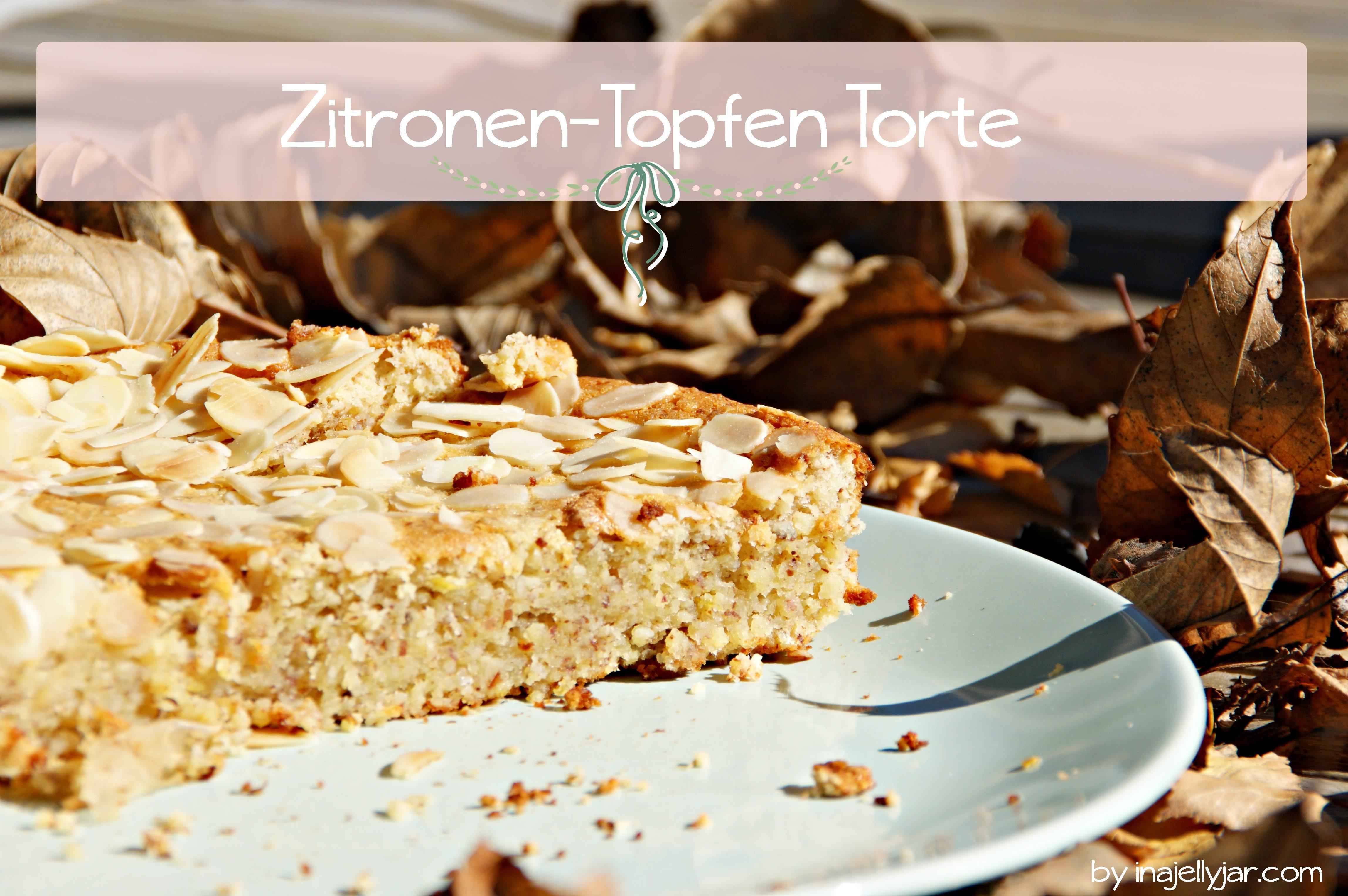 Zitronen-Topfen Torte