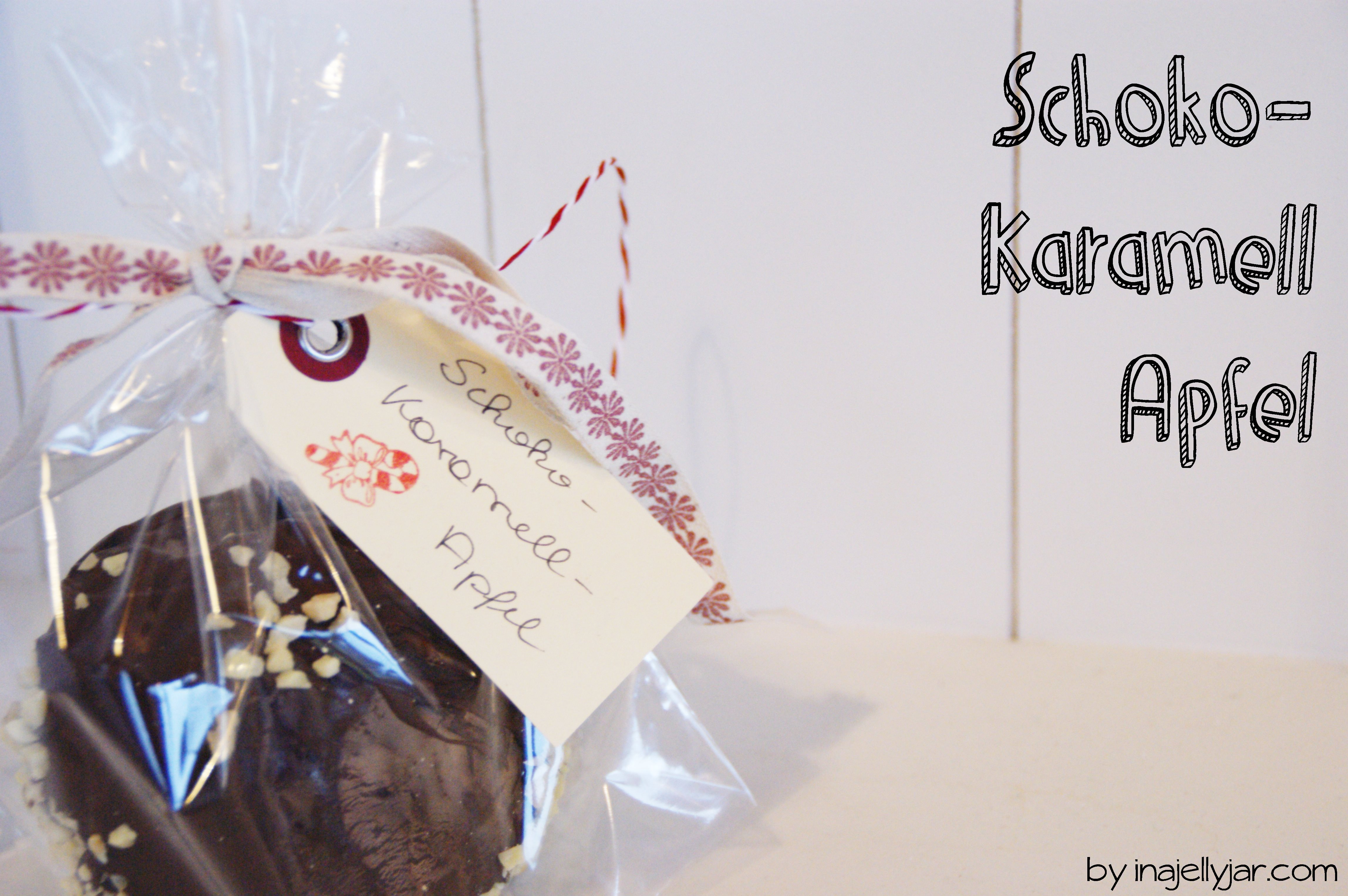 Schoko-Karamell-Apfel