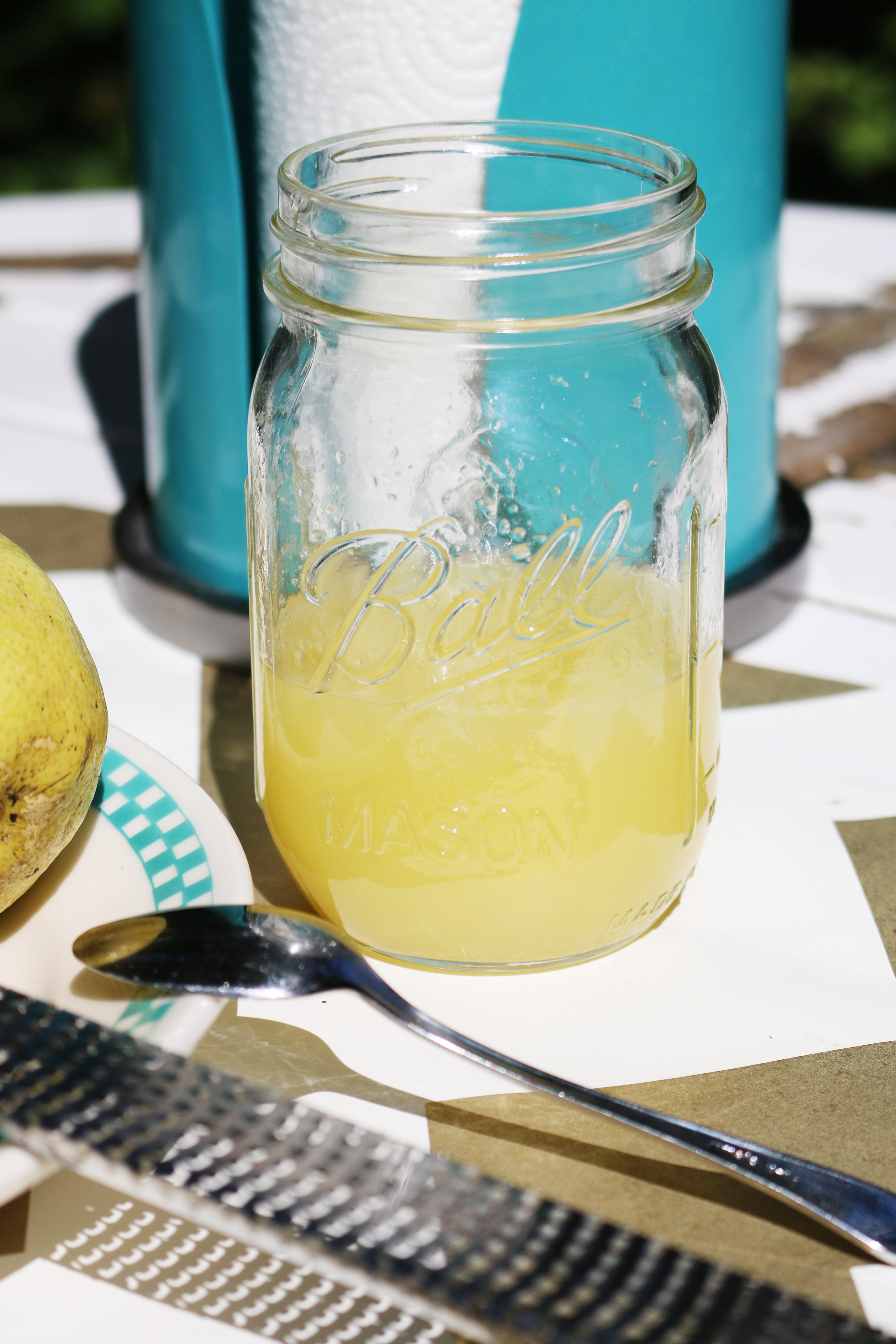 Pink Lemonade Pie Vorbereitungen