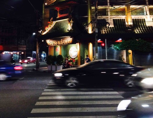 Foodstreets in Bangkok bei Nacht: Chinatown