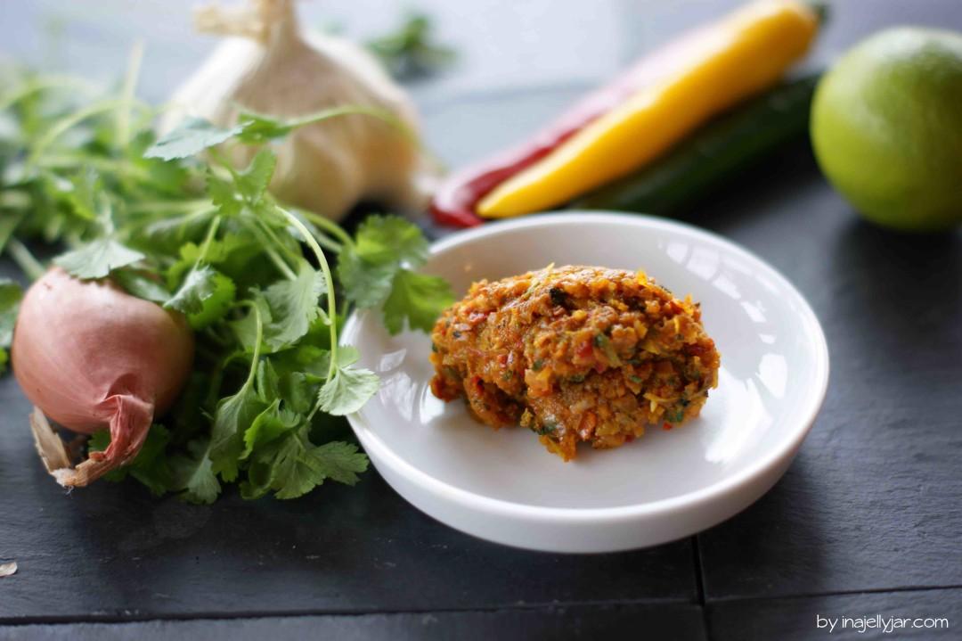 scharfe rote Chilipaste für Thai-Curry