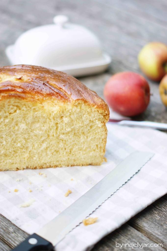 fluffiges Apfel-Honig-Challah