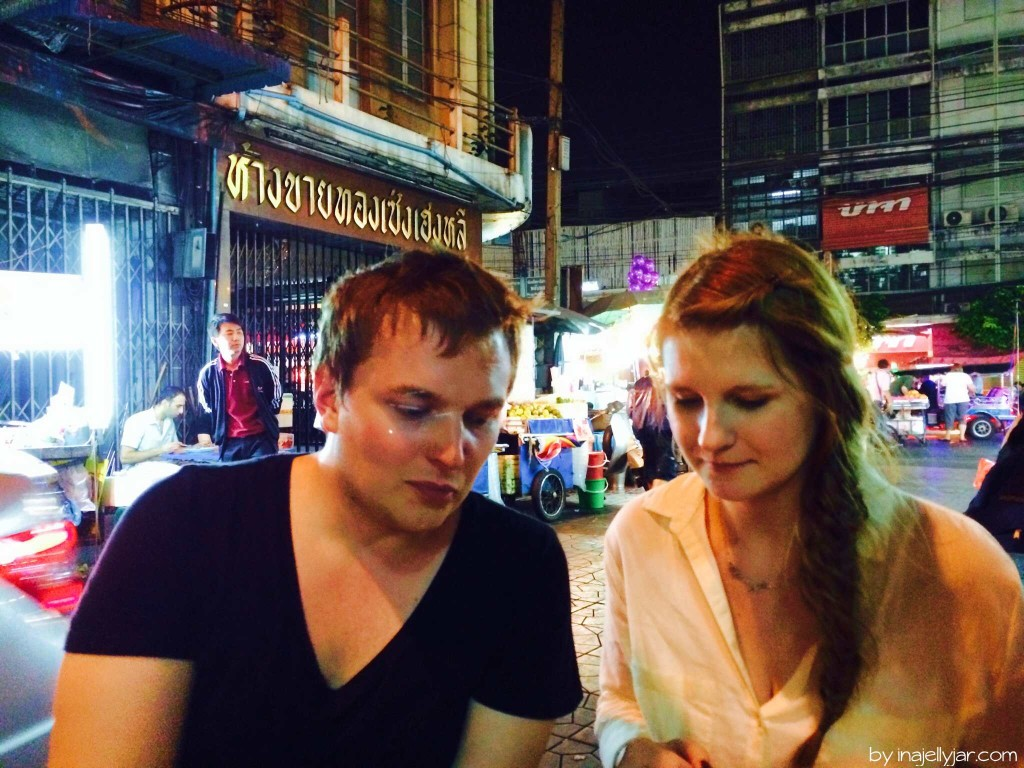 Abendessen in Chinatown, Bangkok
