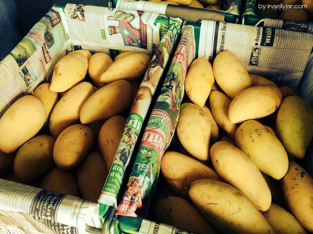 Frische Mangos in Chinatown - Bangkok - Thailand
