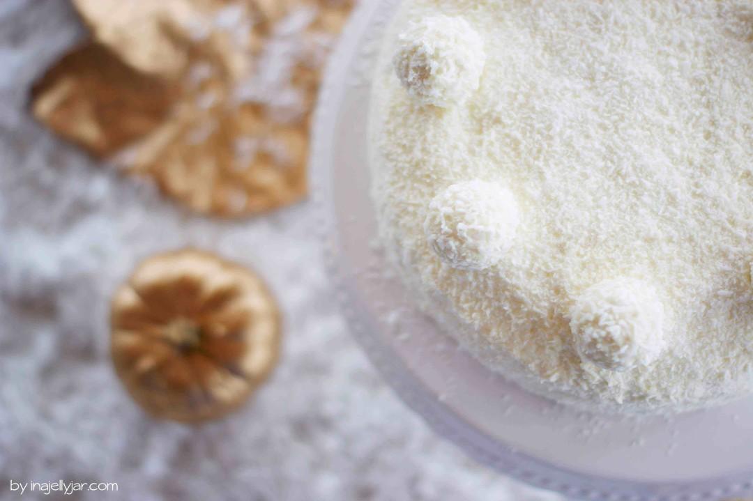 Schoko-Kokos-Torte mit Nougatcreme