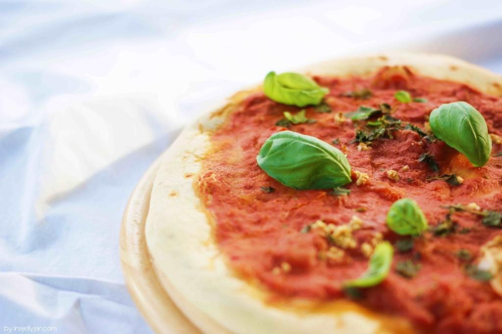 einfacher Pizzateig selbst gemacht