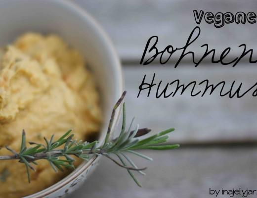 Veganer Bohnenhummus mit Karotten