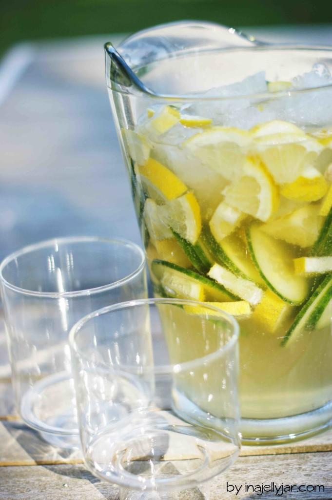 Gin Gin - das Sommergetränk mit Gin, Gurke und Ginger Ale