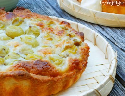 Stachelbeer-Tartelettes mit Marzipan sind das perfekte Sommerdessert!