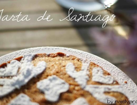 Tarta de Santiago - spanische Kuchenspezialität aus Mandeln