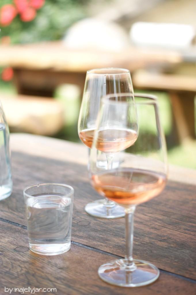 Sonnige Stunden bei Weinbauer Puklavec in Jeruzalem