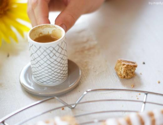 Kokos-Zitronen-Cantuccini - mit Vollkornmehl und ohne raffiniertem Zucker