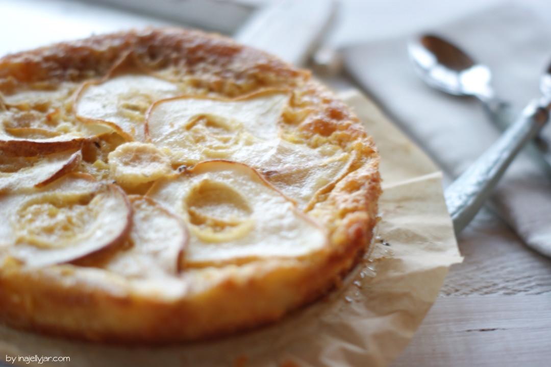 einfache Birnenkuchen aus Frankreich