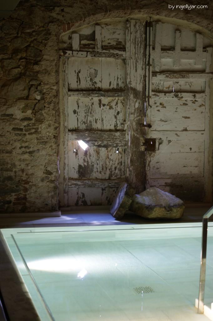 Salzwasserbecken im Aire Ancient Bath