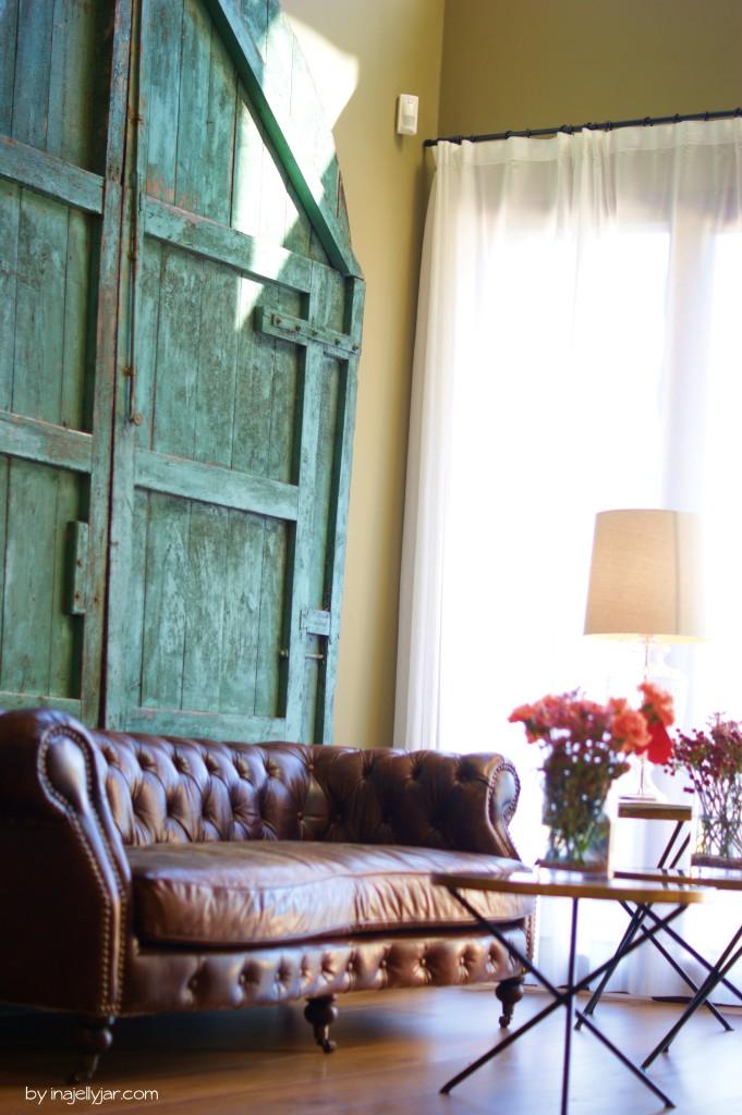 Lobby mit Couch im EcoResort MasSalagros