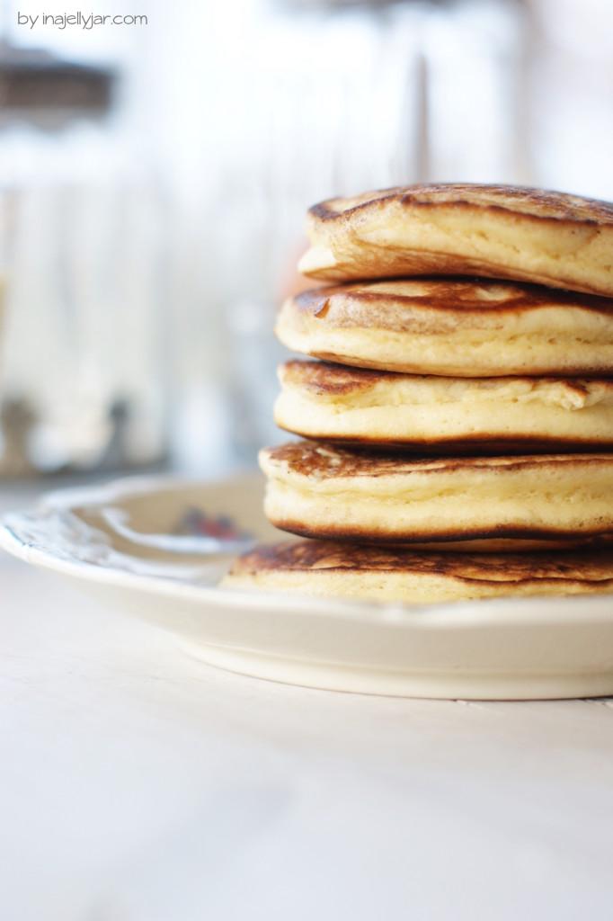 weihnachtliche Eierlikör Pancakes