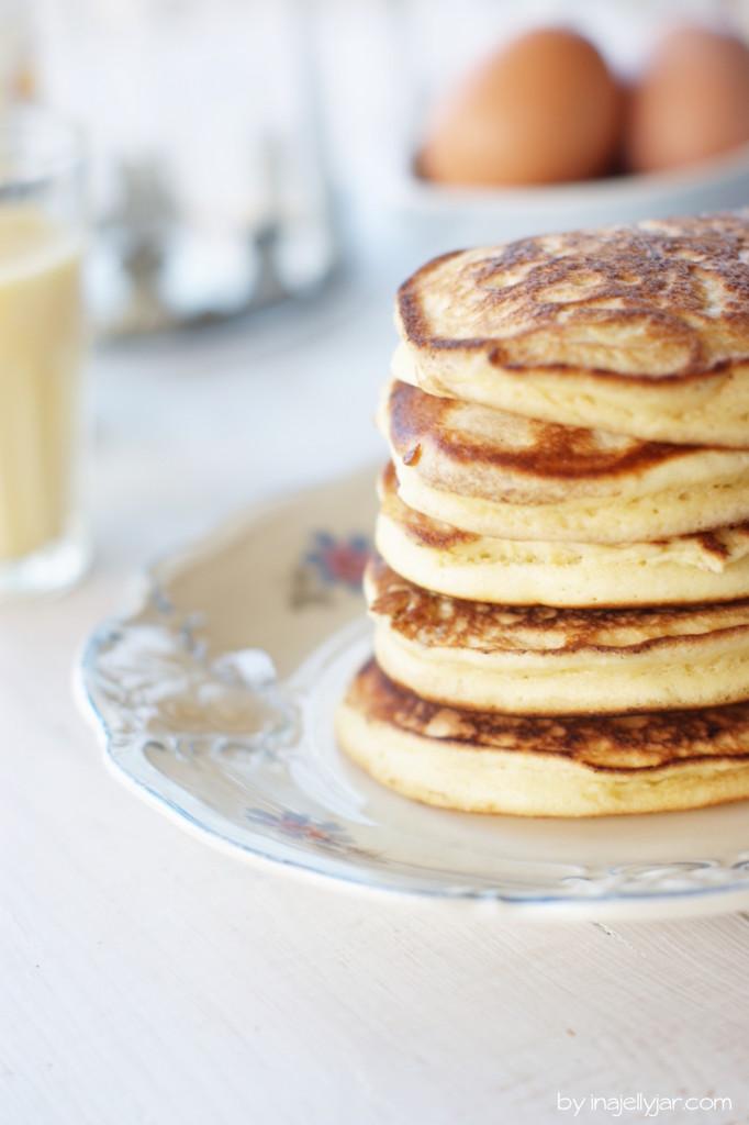 Eierlikör Pancakes zu Weihnachten