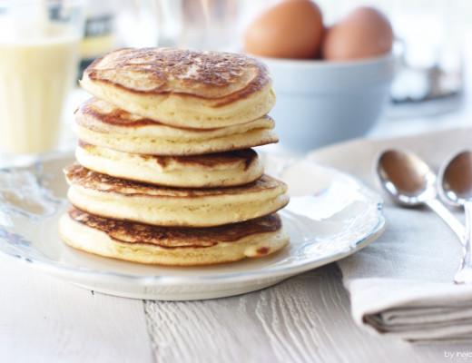 fluffige Eierlikör Pancakes