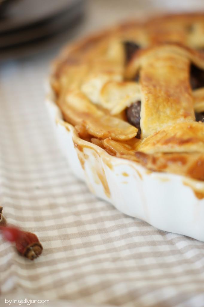 Zwetschgen Pie nach Jamie Oliver