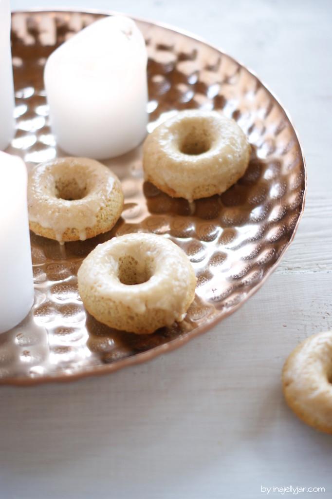Chaidonuts mit Chai-Glasur
