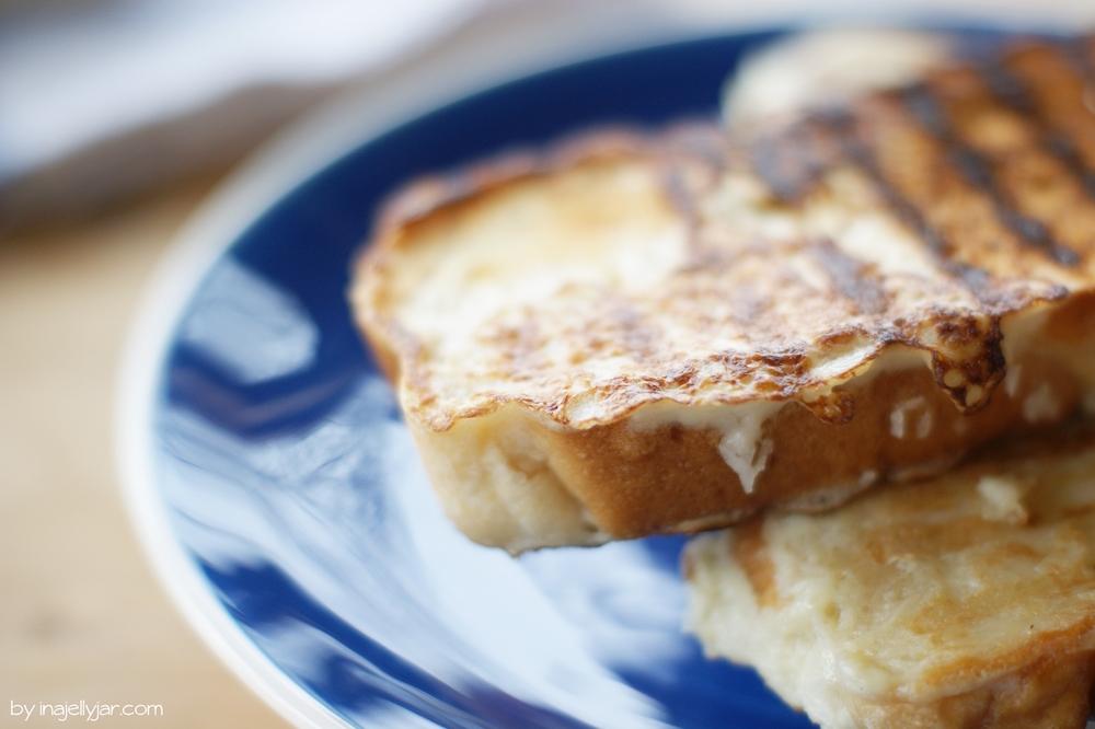 Eierlikör French Toast aus der Pfanne