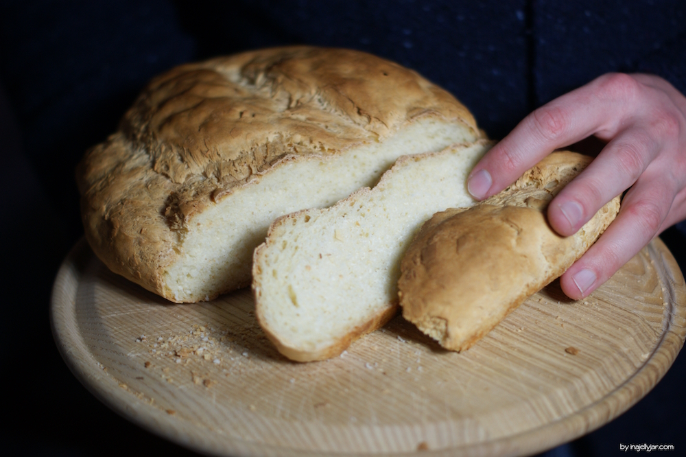 Buttermilchbrot ohne Hefe