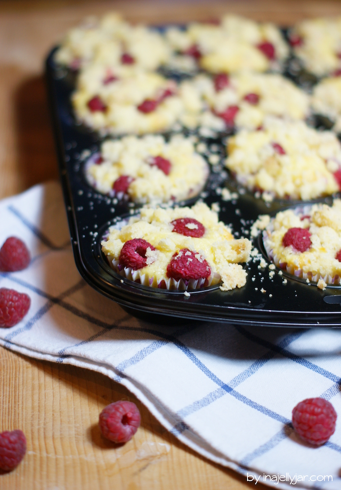 Rezept Himbeer-Streusel-Muffins