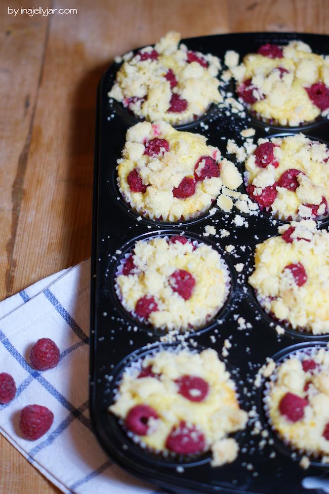 Himbeer-Streusel-Muffins-Rezept