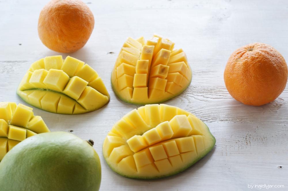 Frische Mangos