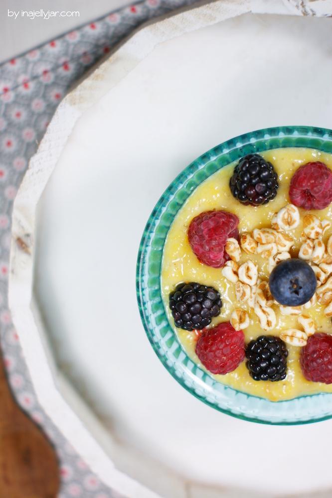 Gesundes Frühstück: Smoothie Bowl