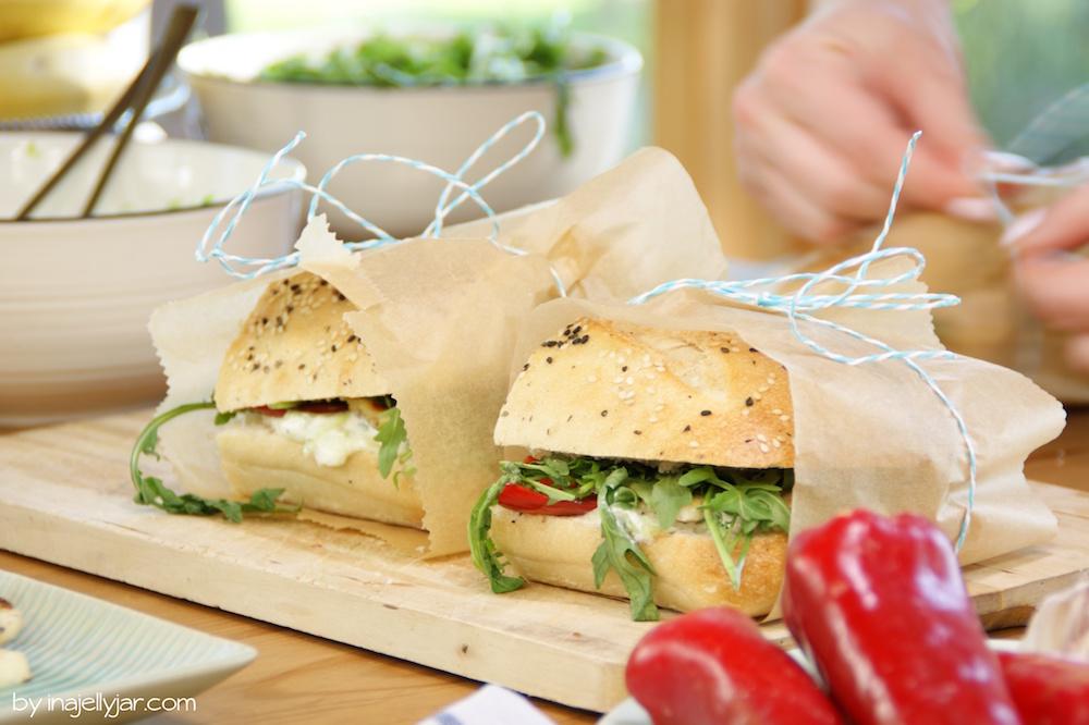 Rezept für Griechisches Sandwich