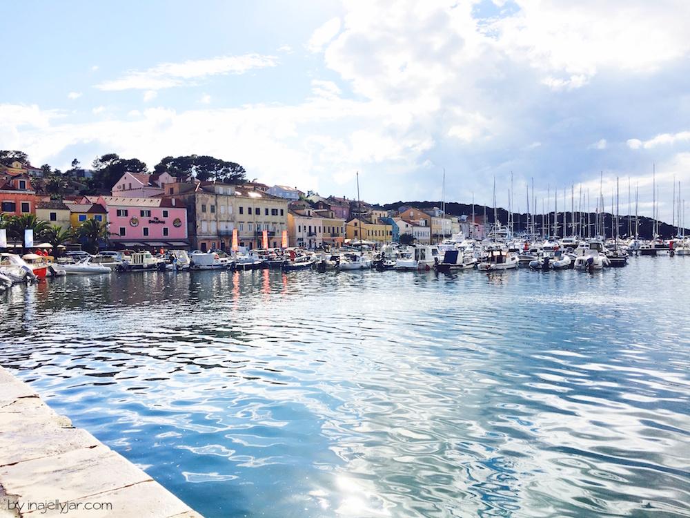 Mali Losinj in Kroatien Hafen