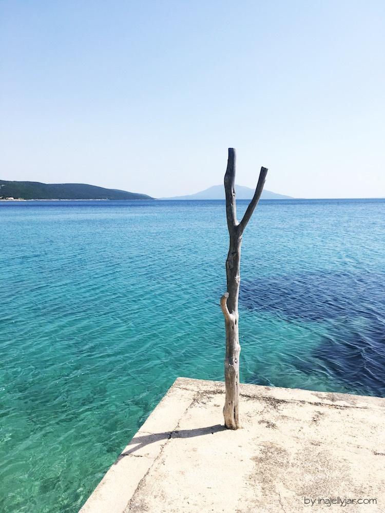 Martinšćica Strand Cres Kroatien