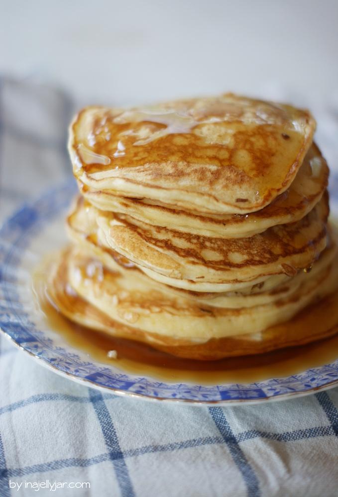 fluffige Jogurt-Pancakes