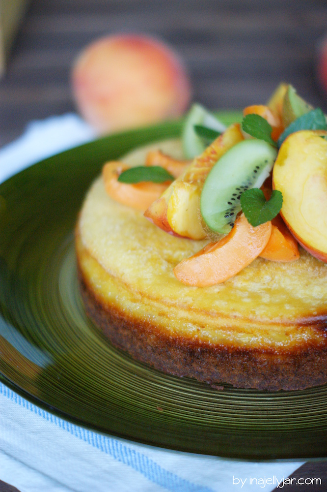 Pfirsichmousse-Torte