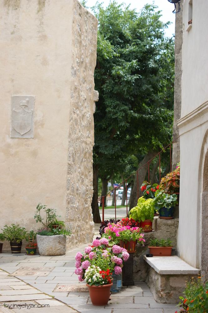 Stadt Cres Blumen