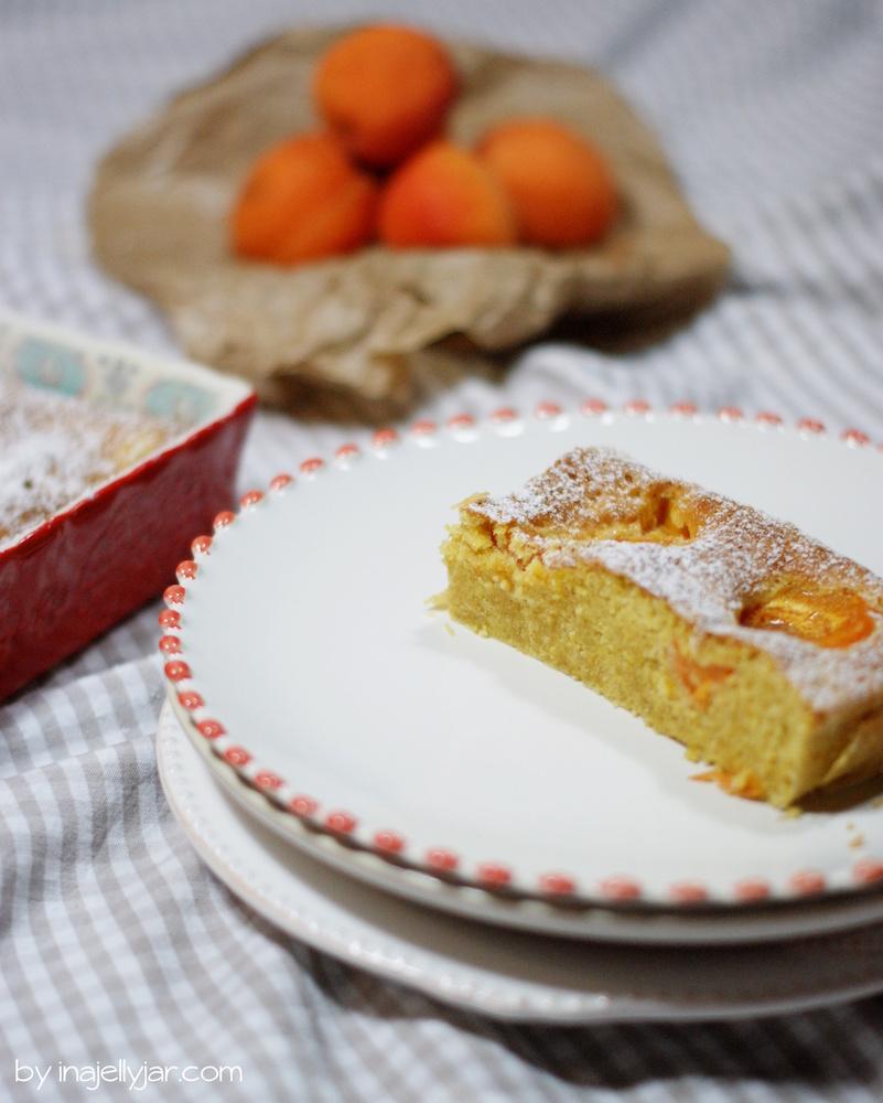 Vollkorn-Marillenkuchen