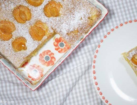 Marillenkuchen aus Vollkornmehl