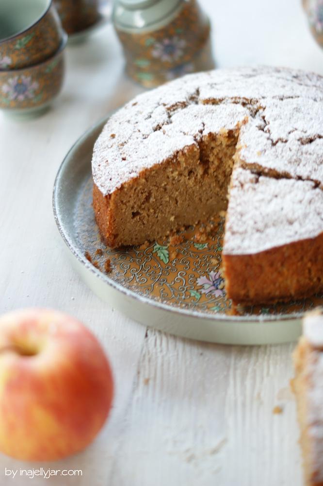 Rezept für Apfelkuchen mit Masalachai