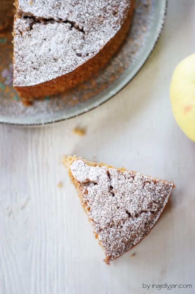 saftiger Apfelkuchen mit Masalachai