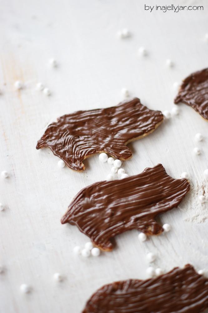 Zimt-Schweinchen Kekse