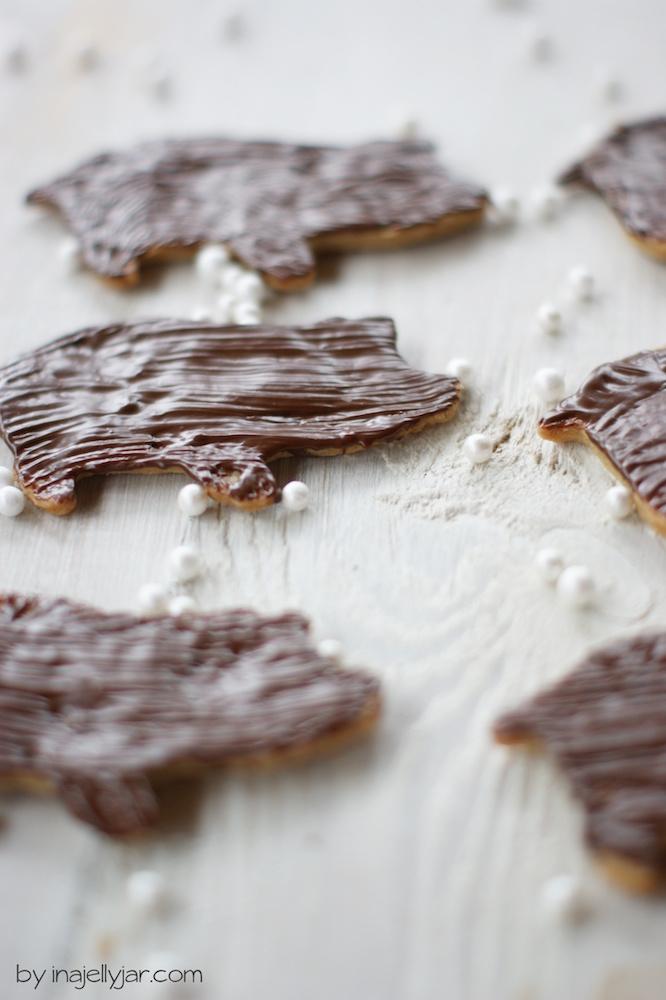 Zimt-Schweinchen Kekse backen