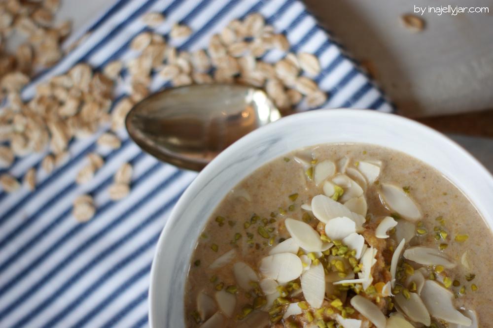 Rezept für Kürbis Porridge