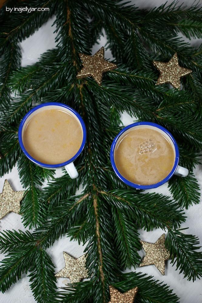 Pumpkin Chai-Latte mit Gewürzen
