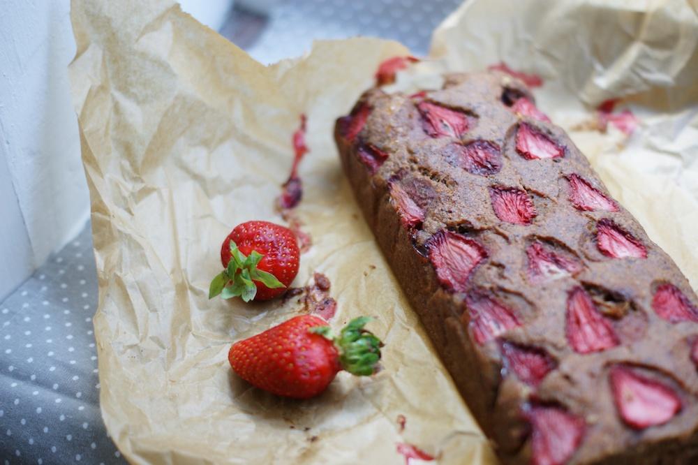 Erdbeermuskuchen mit Mohn gesund