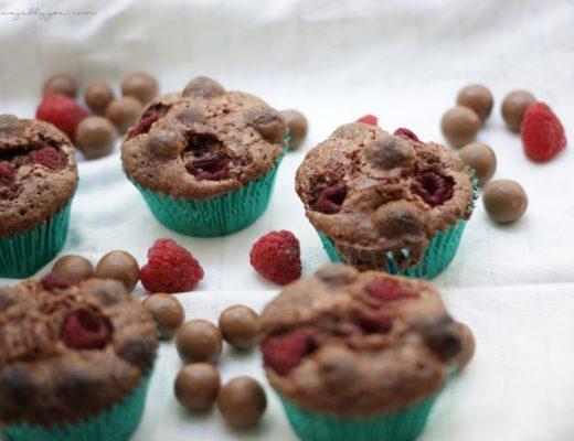 Saftige Brownie-Muffins mit Maltesers