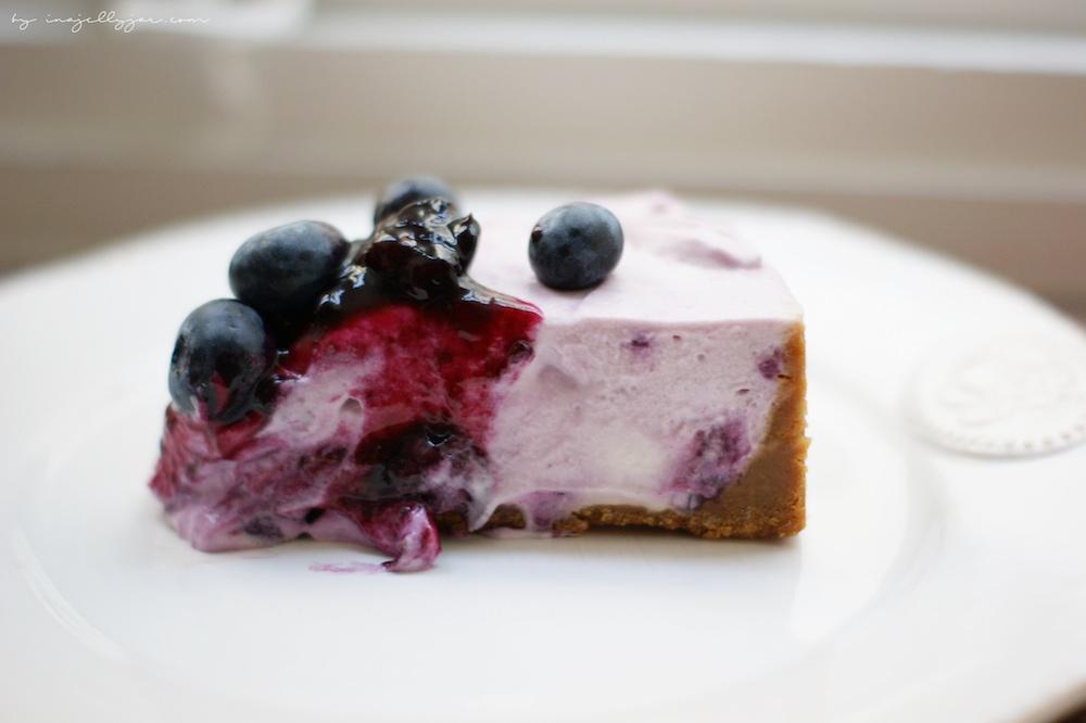 no-bake Cheesecake über Nacht im Kühlschrank